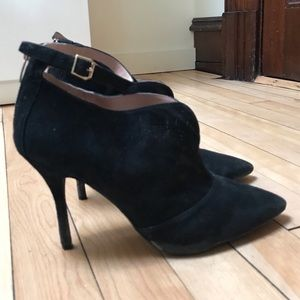 Enzo Angiolini Pamala Ankle Strap Bootie